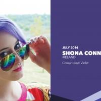 צבע ויולט סגול בשיער